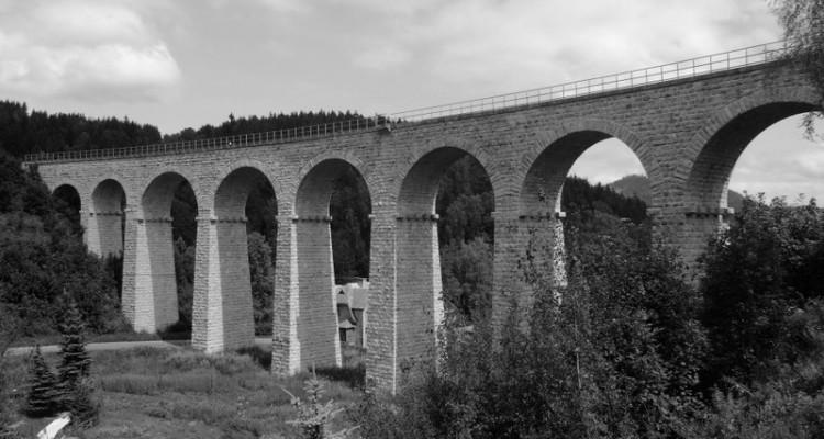 Smržovka - železniční viadukt