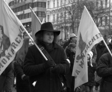 Pochod za monarchii 2008