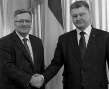 Komorowski a Porošenko