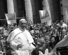 Podle Františka by měla být církev spíše Marií než Martou.