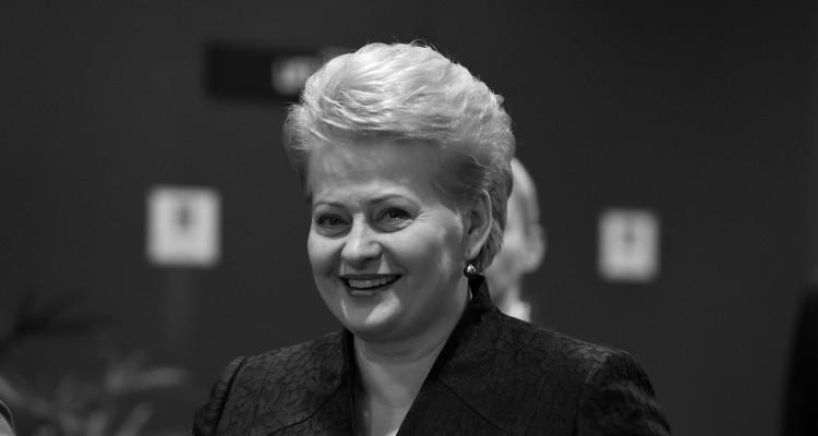 Dalia Grybauskaitė, President of Lithuania