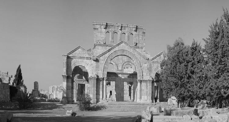 Syria, kostel 750