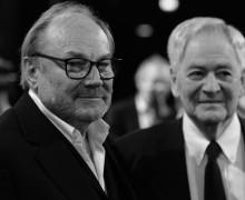 Klaus Maria Brandauer und István Szabó - Nestroy Theaterpreis 2014