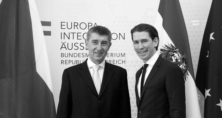 Bundesminister Sebastian Kurz trifft den tschechischen Vizepremier Andrej Babis. Wien, 13.02.2014, Foto: Dragan Tatic