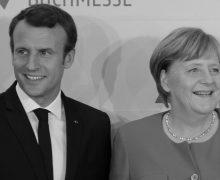 Merkel a Macron_