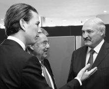 UNO Generalversammlung. BM Sebastian Kurz und BP Heinz Fischer treffen den weissrussischen Präsidenten Lukaschenko. New York, 28.09.2015, Foto: Dragan Tatic