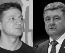 Zelensky a Poroshenko